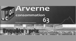 ARVERNE CONSOMMATION 63 NOVEMBRE DÉCEMBRE 2016: PLEIN D'INFORMATIONS LOCALES A DÉCOUVRIR SANS DÉLAI
