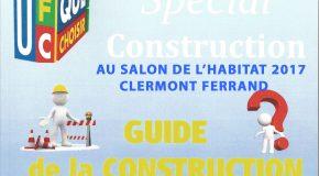GUIDE SPÉCIAL CONSTRUCTION, PARTICULIÈREMENT CONSULTÉ DURANT LE SALON DE L'HABITAT